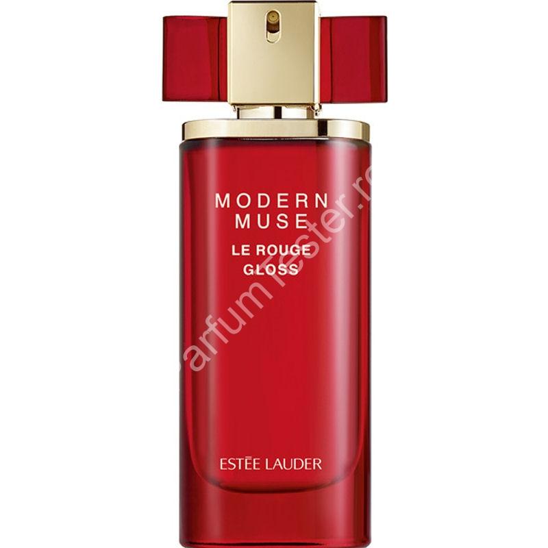 Estée-Lauder-Modern-Muse-Le-Rouge-Gloss Tester