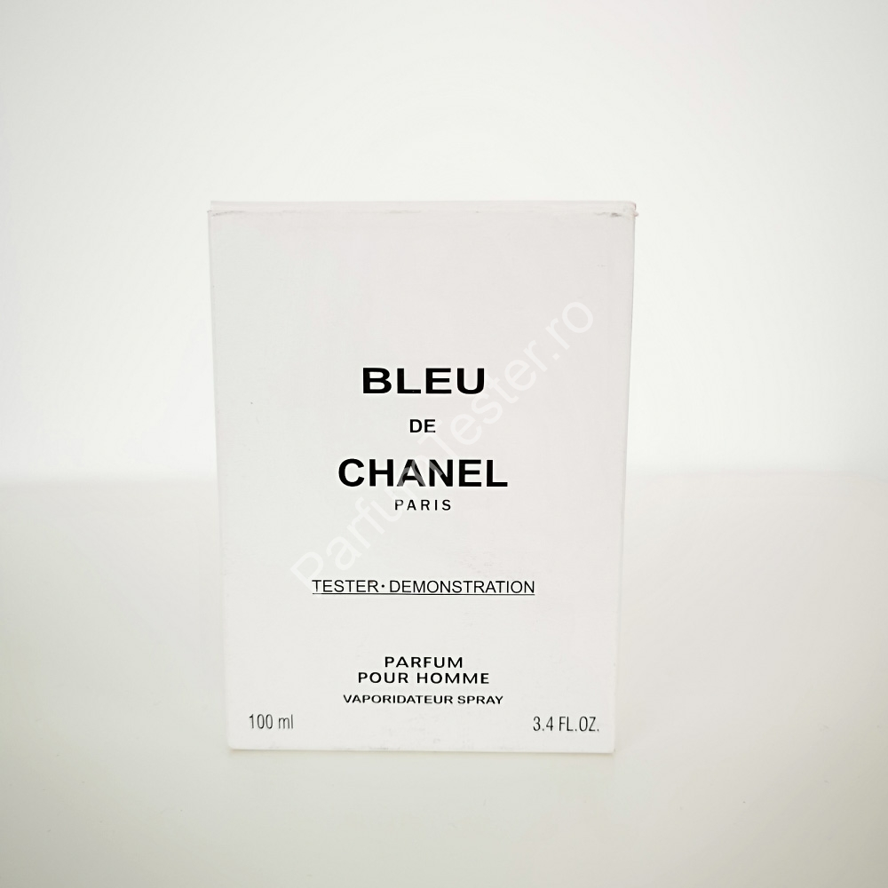 Bleu de Chanel tester