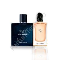 Pachet promo: Chanel Bleu de Chanel + Armani Si